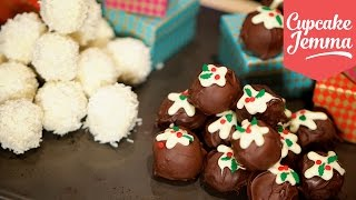 Two Recipes for Christmas Truffles! | Cupcake Jemma by Cupcake Jemma