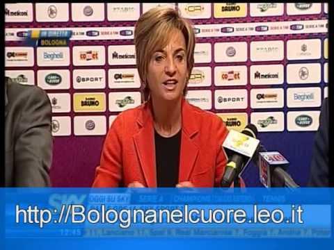 Presentación de Colomba como entrenador del Bologna