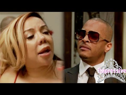 "Tiny says to T.I. ""You slept with my employee!"""