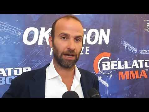 Conferenza Oktagon Bellator 14Set2017