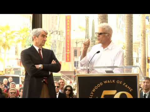 Sam Waterston Walk of Fame Ceremony