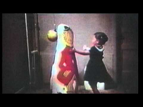Bandura - A look at the the social learning theory of aggression with original footage the the 'bobo' doll experiment.