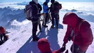 "Mont Blanc 4810 m npm."" Aiguille du Gouter "" Full Story HD Movie by Heliasz - YouTube"