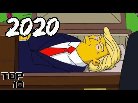 Top 10 Simpsons Predictions That Might Come True In 2020