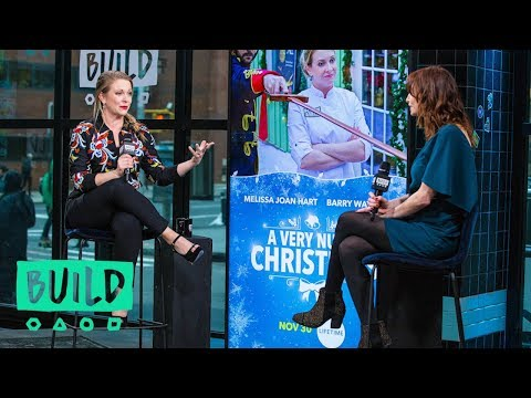 "Melissa Joan Hart Chats Lifetime's ""A Very Nutty Christmas"""
