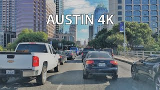 Austin (TX) United States  city images : Driving Downtown - Austin's Main Street - Austin Texas USA
