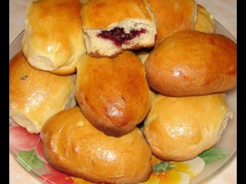 Сдобные пирожки с вишней фото рецепт