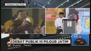 Video Debat Final Pilgub Jatim Segmen 2: Program Prioritas Cagub-Cawagub MP3, 3GP, MP4, WEBM, AVI, FLV Juni 2018