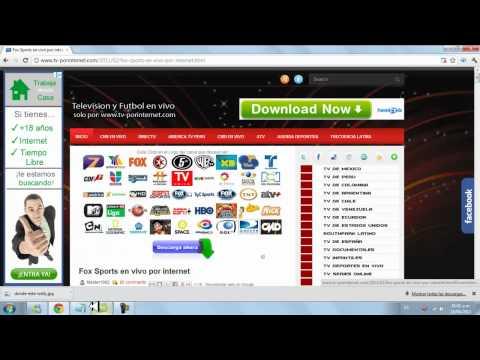 tv vivo gratis - TA MUY BUENO EL PRGRAMA SE LA RECOMIENDO . LINK DE LA PAGINA : http://www.tv-porinternet.com/2011/02/fox-sports-en-vivo-por-internet.html.