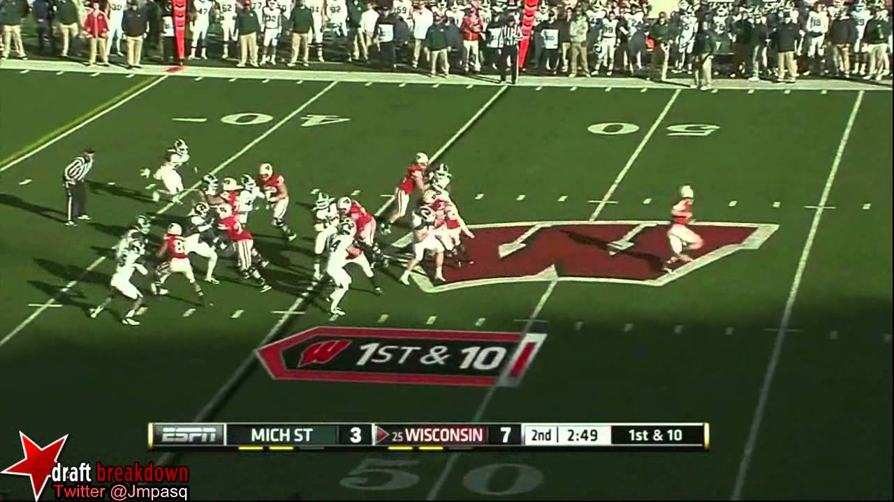 Ryan Groy vs Michigan State (2012)