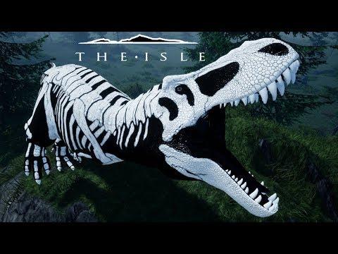 The Isle  T-REX ESQUELETO!!! SPINOSSAURO ÓSSEO! Esqueletos vivos?  (PT/BR)
