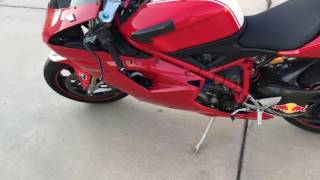 4. Ducati 1098S 2007 Modified Engine and exhaust system