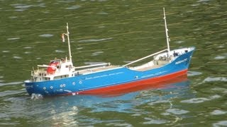 Billing Boats - Mercantic Freight Ship - Scale Model RC Boat