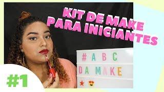 kit de MAQUIAGEM para INICIANTES   #ABCDAMAQUIAGEM