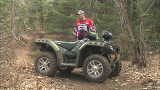 1. Dirt Trax Test Rides 2009 Polaris Sportsman XP EPS