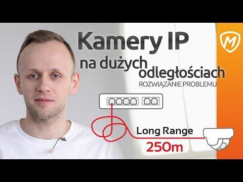Jak podłączyć kamery IP na dużych odległościach? Funkcja LongRange w switchach PIXIR