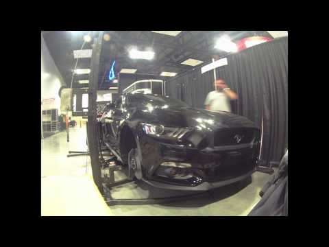 BMR Suspension 2014 PRI Booth Set Up - 2015 Mustang
