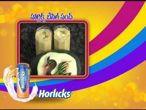 Abhiruchi--Horlicks-Basil-Punch--హార్లిక్స్-బేసిల్-పంచ్