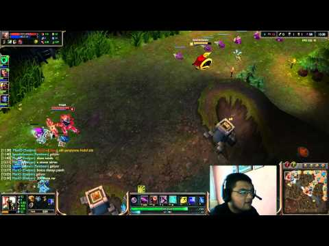 League of Legends (Türkçe) Gameplay #1 – Solo Pantheon
