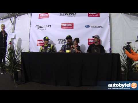SEMA 2013: Global RallyCross Championship Post Race Press Conference