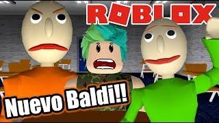 Me Convierto en Baldi de Roblox | Bladi´s Basic School House | Juegos Roblox Karim Juega