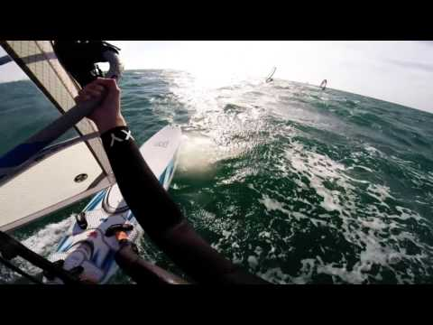 Windsurfing Tel Aviv with GoPro