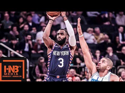 New York Knicks vs Charlotte Hornets Full Game Highlights | 12.08.2018, NBA Season