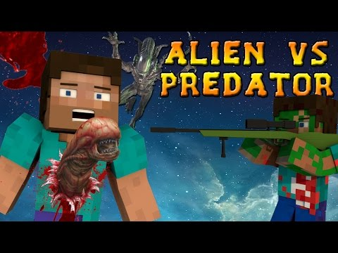 Minecraft Mods: Alien Vs Predator Mod - ALIENS, GUNS, and DORITOS?! (Minecraft Mod Showcase)