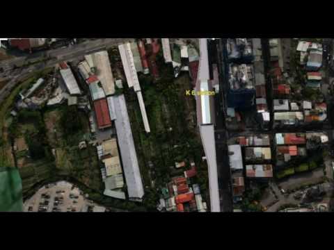 安坑輕軌運輸計畫空拍模擬影片(基本設計階段)