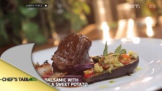 Video Chef's Table - Billy Kaliangi dan Pricilya - Iga Balsamic with Beetroot and Sweet Potato MP3, 3GP, MP4, WEBM, AVI, FLV Maret 2019