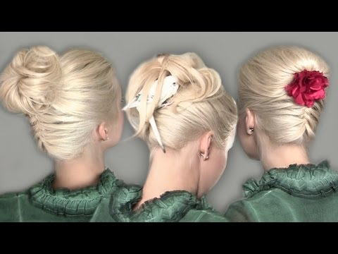 upside down french braid - Follow me on - my new beauty channel in Russian http://www.YouTube.com/LilithMoonRu - Fаcebook http://www.facebook.com/LilithMoon - Twitter http://www.twitte...