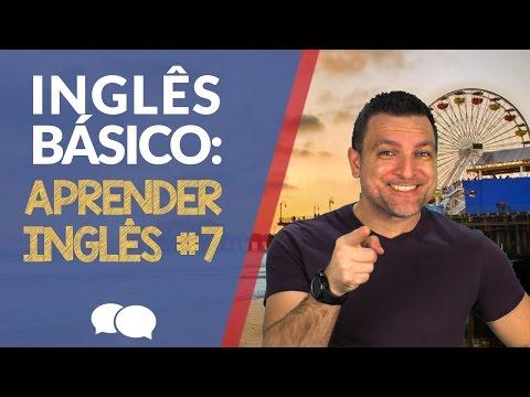 AULA DE INGLES BASICO 7 - Aprender Ingl�s.