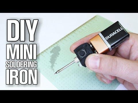DIY Mini Soldering Iron