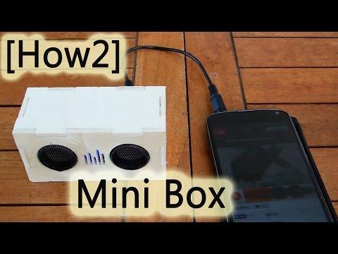 [How2] Mini Box - selbst gebaut