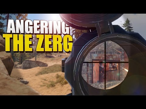 ANGERING THE ZERG (Rust Solo Survival) #59