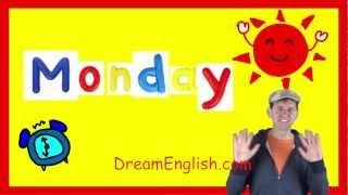 Monday Song for the Classroom, Days of the Week Songs