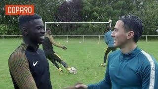 Video Amateur vs Manchester United Wonderkid Challenge MP3, 3GP, MP4, WEBM, AVI, FLV Juni 2018