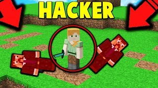 HACKER KEEPS KILLING ME... in Minecraft BATTLE ROYALE