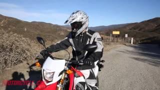 1. 2013 Honda CRF250L vs. 2013 Kawasaki KLX250S - Lightweight Dual Sport Comparison