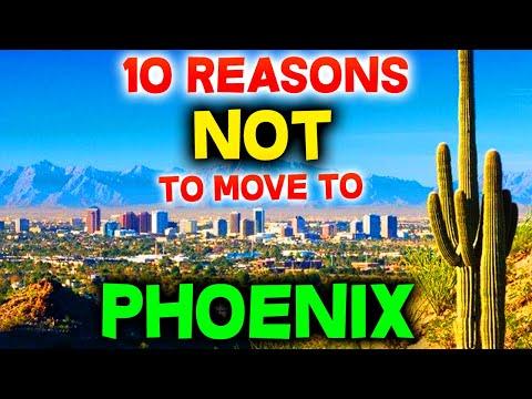 Top 10 Reasons NOT to Move to Phoenix, Arizona