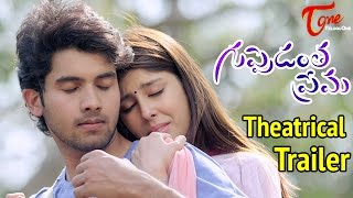 Guppedantha Prema Movie Trailer HD Sai Ronak, Aditi Singh