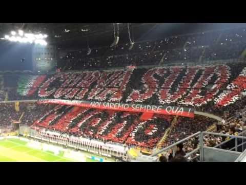 Ultras curva Sud Milano che spettacolo!