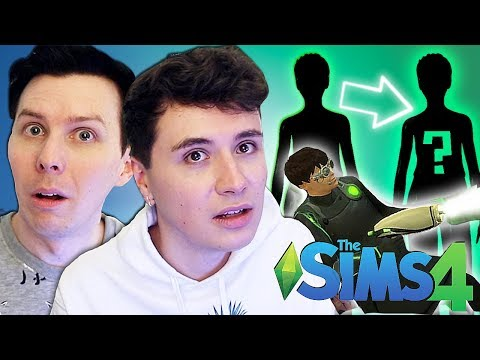 DIL CLONES A SIM - Dan And Phil Play: Sims 4 #55