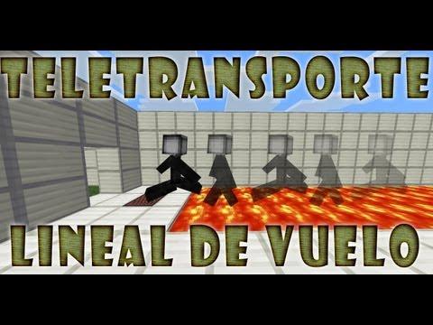Teletransporte lineal de vuelo | Minecraft | KillerCreeper55