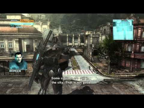 геймплей METAL GEAR RISING: REVENGEANCE