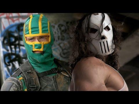 CASEY JONES vs KICK-ASS - Super Power Beat Down (Episode 13) (видео)