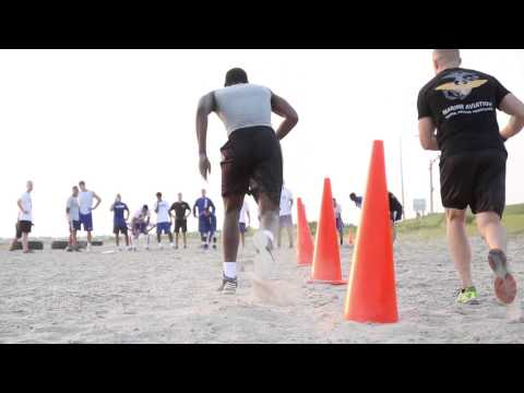 Men's Basketball Beach Workout