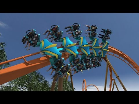 POV - Holiday World announces Thunderbird - Launched B&M Wingrider for 2015. Ride details: http://www.holidayworld.com/thunderbird/