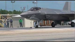 First F-35 Catapult Launch