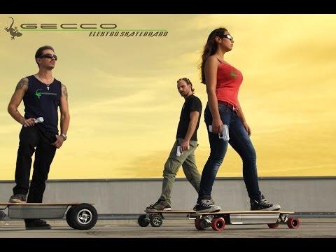GECCO electro-skateboarding